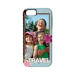 travel - Apple iPhone 5 Classic Hardshell Case (PC+Silicone)