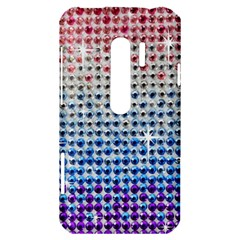 Rainbow Colored Bling HTC Evo 3D Hardshell Case  by artattack4all