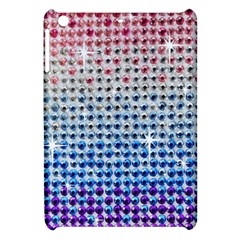 Rainbow Colored Bling Apple Ipad Mini Hardshell Case by artattack4all