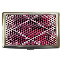 Red Glitter Bling Cigarette Box by artattack4all