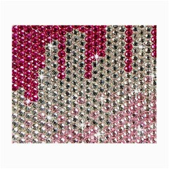 Mauve Gradient Rhinestones  Glasses Cleaning Cloth by artattack4all