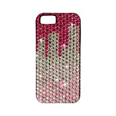 Mauve Gradient Rhinestones  Apple Iphone 5 Classic Hardshell Case (pc+silicone) by artattack4all