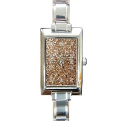 Light And Dark Sequin Design Classic Elegant Ladies Watch (rectangle) by artattack4all