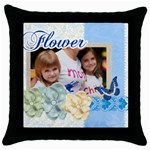 mothers love - Throw Pillow Case (Black)