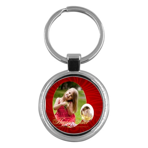 Easter By Easter   Key Chain (round)   Zwz57m3gctc3   Www Artscow Com Front