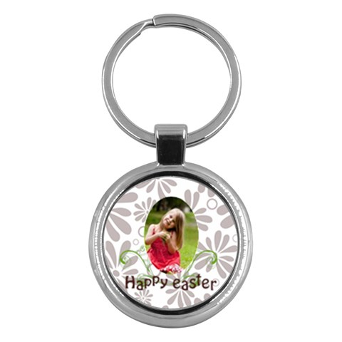 Easter By Easter   Key Chain (round)   Dux05s19bkul   Www Artscow Com Front
