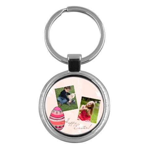 Easter By Easter   Key Chain (round)   S0qgt8u0mb3m   Www Artscow Com Front