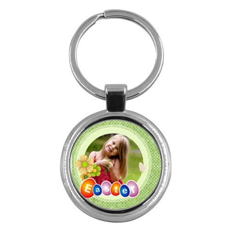 Easter By Easter   Key Chain (round)   Rcs2jf3qurlj   Www Artscow Com Front