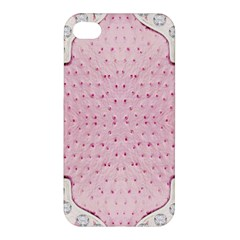 Hot Pink Western Tooled Leather Look Apple Iphone 4/4s Hardshell Case by artattack4all