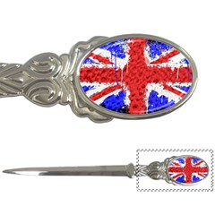 Distressed British Flag Bling Paper Knife by artattack4all