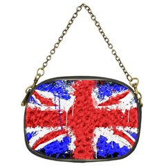 Distressed British Flag Bling Twin Sided Evening Purse by artattack4all
