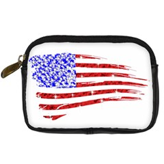 Sparkling American Flag Compact Camera Case by artattack4all