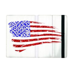 Sparkling American Flag Apple Ipad Mini Flip Case by artattack4all