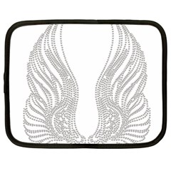 Angel Bling Wings 15  Netbook Case by artattack4all