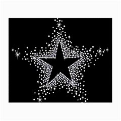 Sparkling Bling Star Cluster Twin Sided Glasses Cleaning Cloth by artattack4all