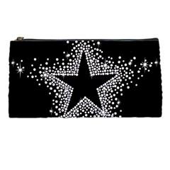 Sparkling Bling Star Cluster Pencil Case