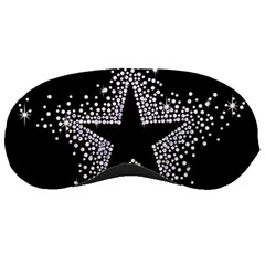 Sparkling Bling Star Cluster Sleep Eye Mask by artattack4all