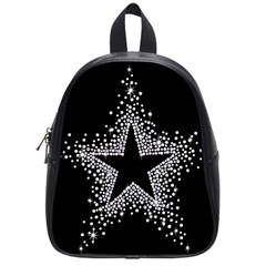 Sparkling Bling Star Cluster Small School Backpack by artattack4all