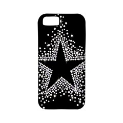 Sparkling Bling Star Cluster Apple Iphone 5 Classic Hardshell Case (pc+silicone) by artattack4all
