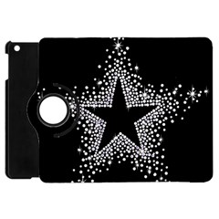 Sparkling Bling Star Cluster Apple Ipad Mini Flip 360 Case by artattack4all