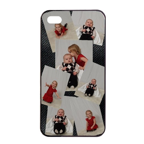 Iphone By Rebecca   Apple Iphone 4/4s Seamless Case (black)   Ojoscf2pzfie   Www Artscow Com Front
