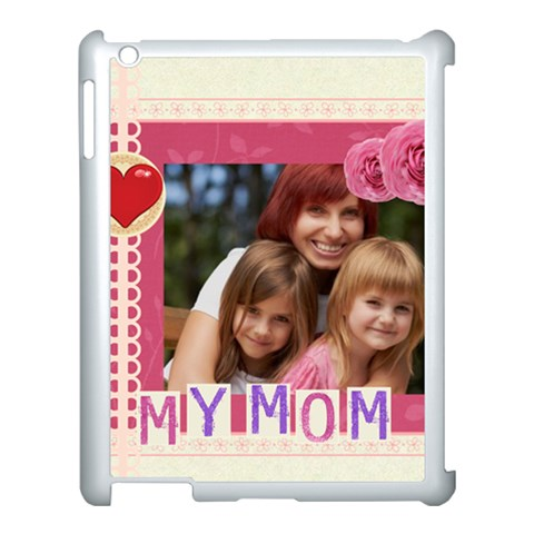 Mothers Day By Jacob   Apple Ipad 3/4 Case (white)   Hfa11ze7aw90   Www Artscow Com Front