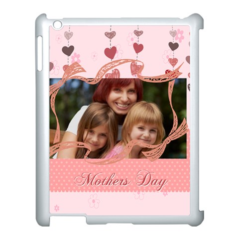 Mothers Day By Jacob   Apple Ipad 3/4 Case (white)   F46urodvdmce   Www Artscow Com Front