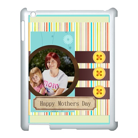 Mothers Day By Jacob   Apple Ipad 3/4 Case (white)   Ef3vun7umpnp   Www Artscow Com Front
