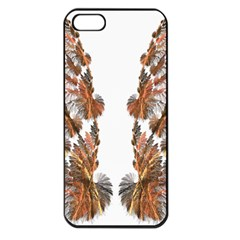 Brown Feather Wing Apple Iphone 5 Seamless Case (black) by artattack4all