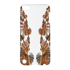 Brown Feather Wing Apple Ipod Touch 5 Hardshell Case by artattack4all