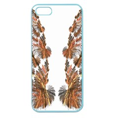 Brown Feather Wing Apple Seamless Iphone 5 Case (color) by artattack4all