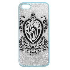 Diamond Bling Lion Apple Seamless Iphone 5 Case (color) by artattack4all