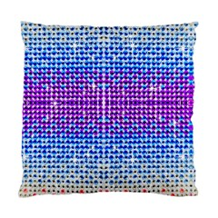 Rainbow Of Colors, Bling And Glitter Single Sided Cushion Case by artattack4all