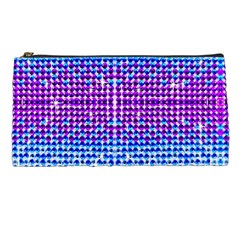 Rainbow Of Colors, Bling And Glitter Pencil Case by artattack4all