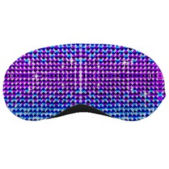 Rainbow Of Colors, Bling And Glitter Sleep Eye Mask by artattack4all