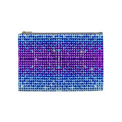 Rainbow Of Colors, Bling And Glitter Medium Makeup Purse by artattack4all