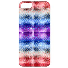 Rainbow Of Colors, Bling And Glitter Apple Iphone 5 Classic Hardshell Case by artattack4all