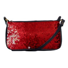 Sequin And Glitter Red Bling Evening Bag by artattack4all