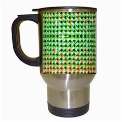 Diamond Cluster Color Bling White Travel Mug by artattack4all