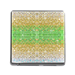 Diamond Cluster Color Bling Card Reader With Storage (square) by artattack4all