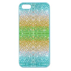Diamond Cluster Color Bling Apple Seamless Iphone 5 Case (color) by artattack4all