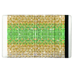 Diamond Cluster Color Bling Apple Ipad 3/4 Flip Case by artattack4all