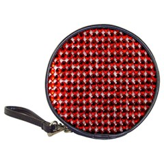 Deep Red Sparkle Bling Cd Wallet by artattack4all