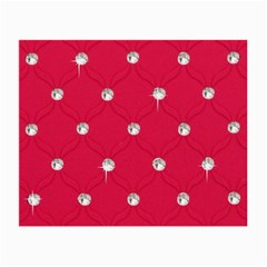 Red Diamond Bling  Glasses Cleaning Cloth by artattack4all