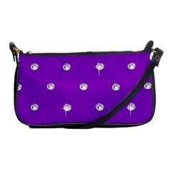 Royal Purple Sparkle Bling Evening Bag by artattack4all