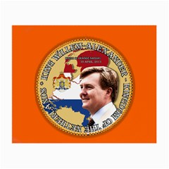 King Willem Alexander Glasses Cleaning Cloth by artattack4all