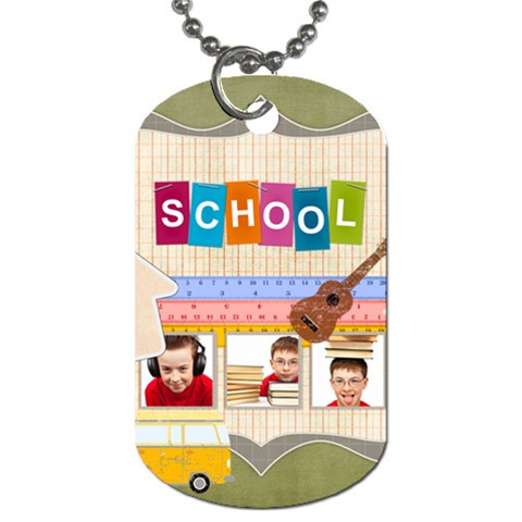 Kids By Jo Jo   Dog Tag (one Side)   Fdnbkbg9wbyw   Www Artscow Com Front