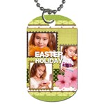 kids, easter - Dog Tag (One Side)