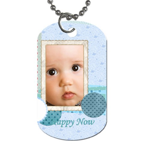 Kids, Birthday By Joely   Dog Tag (one Side)   I1lcum5lyzoh   Www Artscow Com Front