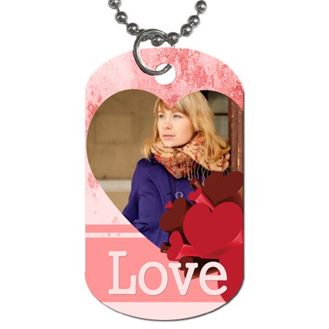 Love By Anita   Dog Tag (one Side)   9ha0p7m5xu0b   Www Artscow Com Front